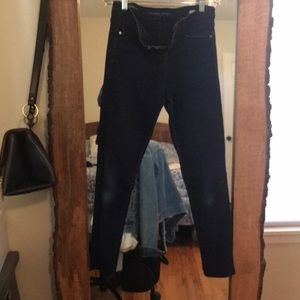 Banana Republic high waist skinny ankle jean